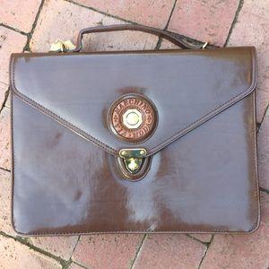 Vintage marchino vía moda briefcase